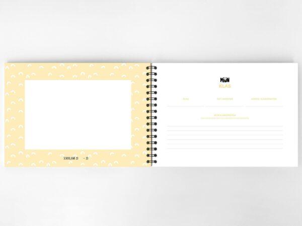 Atelier Pix - Mijn schoolfotoboek - Mint - binnenkant 5 - invulboekjes.nl