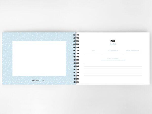 Atelier Pix - Mijn schoolfotoboek - Mint - binnenkant 7 - invulboekjes.nl