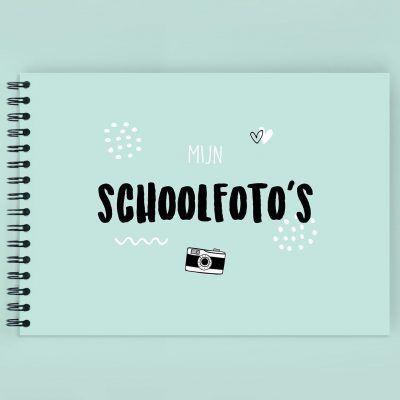 Atelier Pix - Mijn schoolfotoboek - Mint - invulboekjes.nl