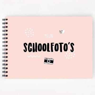 Atelier Pix - Mijn schoolfotoboek - Roze - invulboekjes.nl