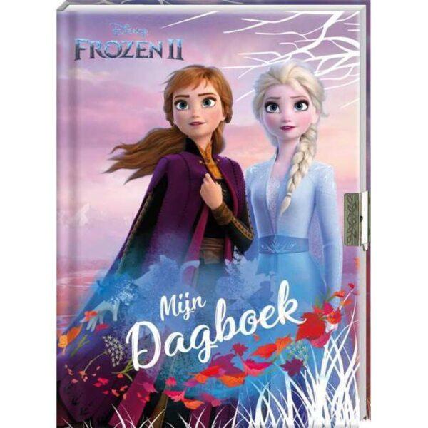 Disney Frozen 2 - Mijn dagboek met slotje - invulboekjes.nl