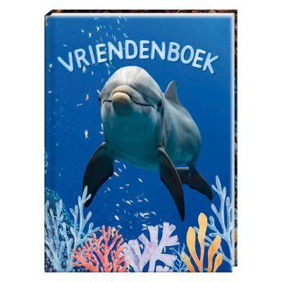 Dolfijn Vriendenboek - invulboekjes.nl