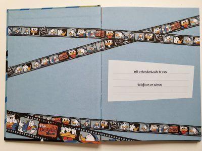 Donald Duck camera Vriendenboekje Vriendenboekje