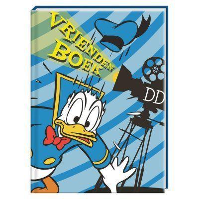 Donald Duck camera Vriendenboek - invulboekjes.nl