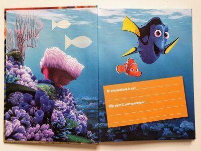 Finding Dory Vriendenboekje Vriendenboekje voor jongen
