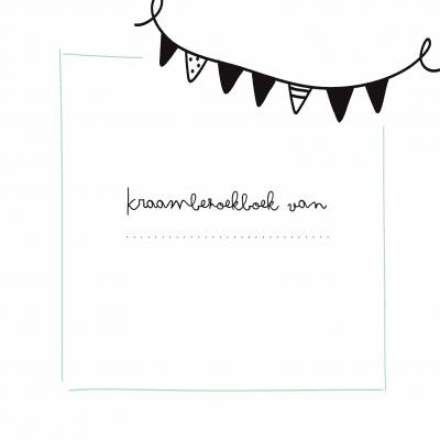 KIDOOZ Kraambezoekboek – Mint Boeken met gratis verzending