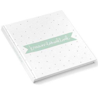 KIDOOZ Kraambezoekboek - Mint - invulboekjes.nl