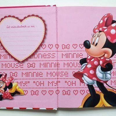 Minni Mouse Vriendenboekje Vriendenboekje
