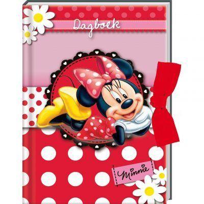 Minnie Mouse dagboek met sluitlint - invulboekjes.nl