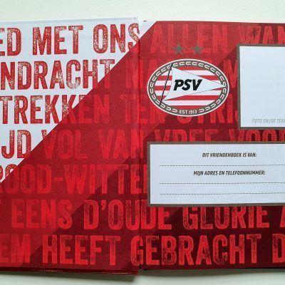 PSV Vriendenboekje Vriendenboekje