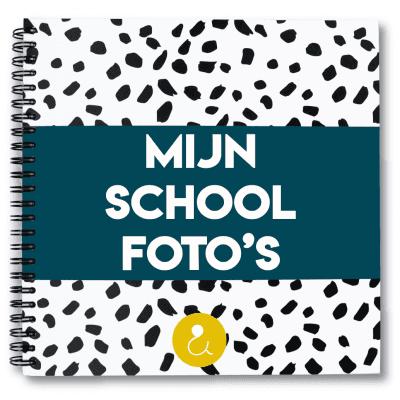 Studio Ins & Outs 'Mijn schoolfoto's' – Donkerblauw (België) Schoolfotoboek