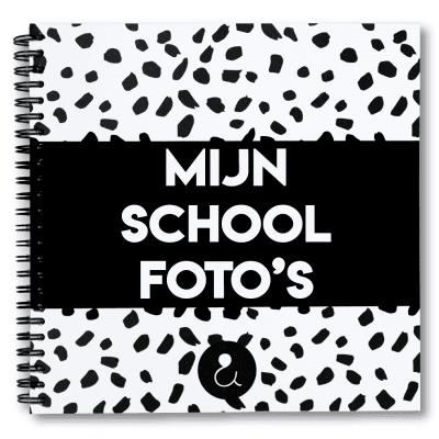 Studio Ins & Outs 'Mijn schoolfoto's' – Monochrome Schoolfotoboek