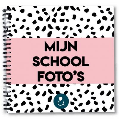 Studio Ins & Outs 'Mijn schoolfoto's' – Roze Schoolfotoboek