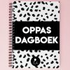 Studio Ins & Outs Oppasdagboek - Monochroom - invulboekjes.nl