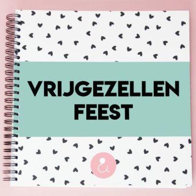Studio Ins & Outs 'Vrijgezellenfeest' - Mint - invulboekjes.nl