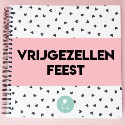 Studio Ins & Outs 'Vrijgezellenfeest' - Roze - invulboekjes.nl