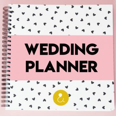 Studio Ins & Outs 'Wedding planner' - Roze - invulboekjes.nl