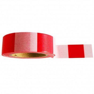Studio Stationery Washi tape 'Pink red' - invulboekjes.n