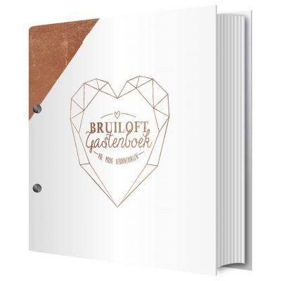 Tante Kaartje - Bruiloft gastenboek - invulboekjes.nl