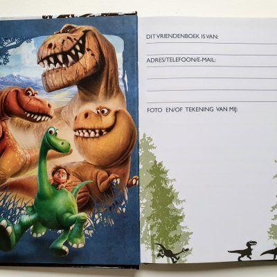 The Good Dinosaur Vriendenboekje Vriendenboekje