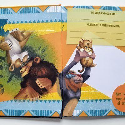 The Lion King Vriendenboekje Vriendenboekje