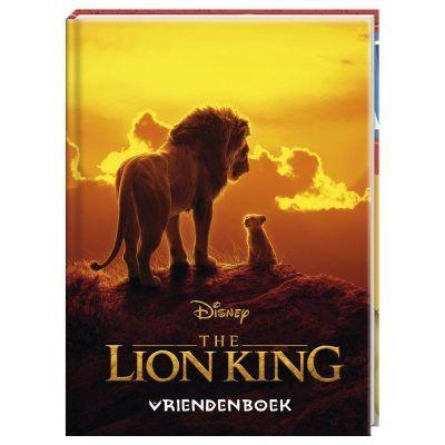 The Lion King Vriendenboek - invulboekjes.nl