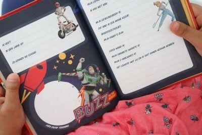 Toy Story Vriendenboek - invulboekjes.nl