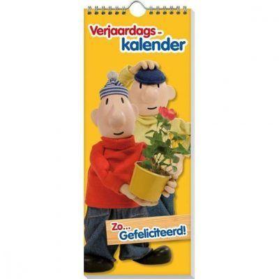 Verjaardagskalender Buurman & Buurman - invulboekjes.nl
