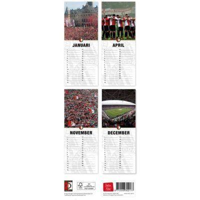 Verjaardagskalender Feyenoord -achterkant- invulboekjes.nl