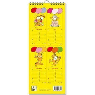 Verjaardagskalender Garfield -achterkant- invulboekjes.nl
