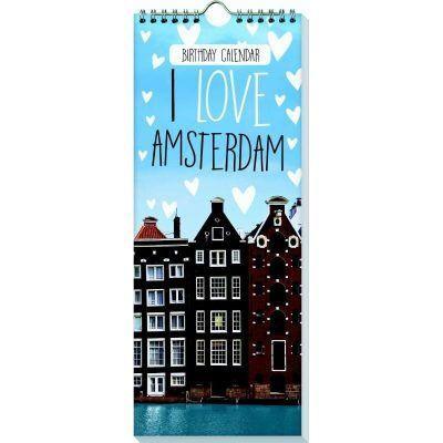 Verjaardagskalender I love amsterdam - invulboekjes.nl