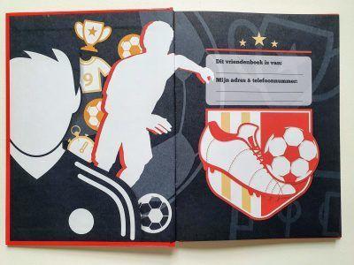 Voetbal Vriendenboekje Vriendenboekje