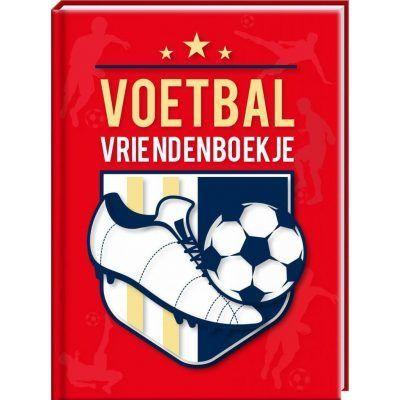 Voetbal Vriendenboek - invulboekjes.nl