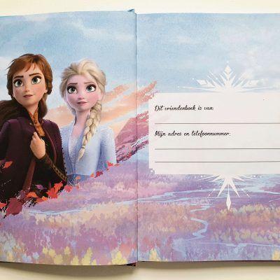 Disney Frozen 2 Vriendenboekje Vriendenboekje
