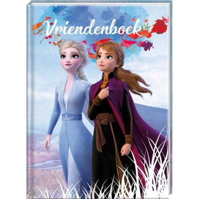 Disney Frozen 2 Vriendenboek - invulboekjes.nl