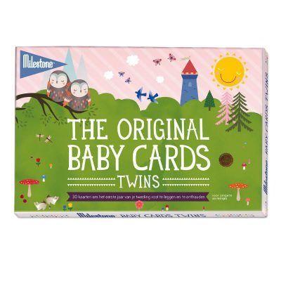 Milestone™ Baby tweeling fotokaarten - Twins - invulboekjes (1)