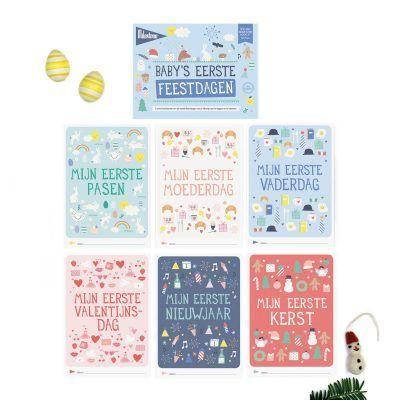 Milestone™ Baby's eerste feestdagen - invulboekjes (1)