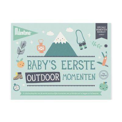 Milestone™ Baby's eerste outdoor momenten - invulboekjes (4)