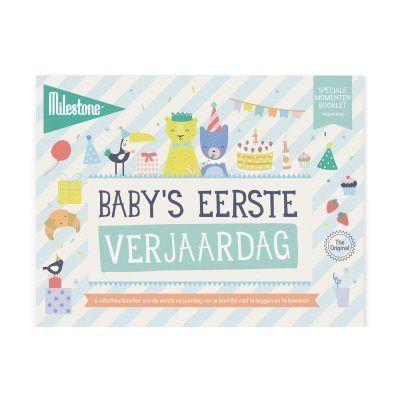 Milestone™ Baby's eerste verjaardag - invulboekjes