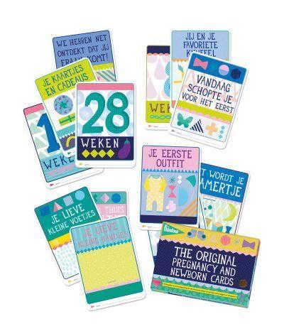 Milestone™ Pregnancy and newborn cards - invulboekjes