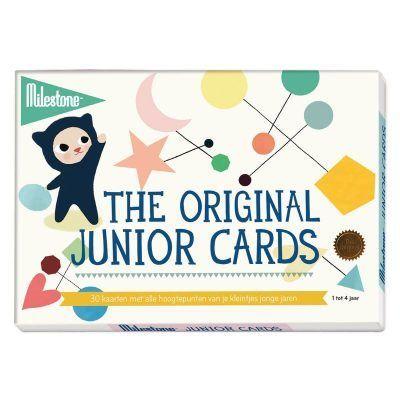 Milestone™ The original junior cards - invulboekjes (1)