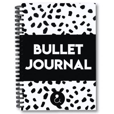 Studio Ins & Outs 'Bullet Journal' – Monochrome Bullet Journal