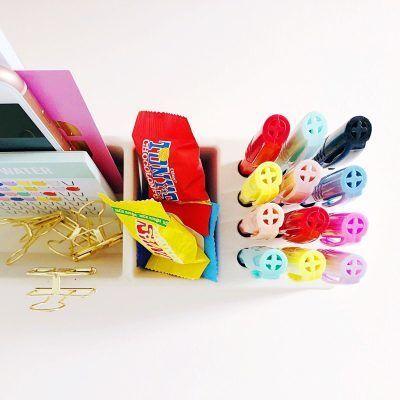 Studio Stationery Desk organizer Pens - Wit - invulboekjes (1)