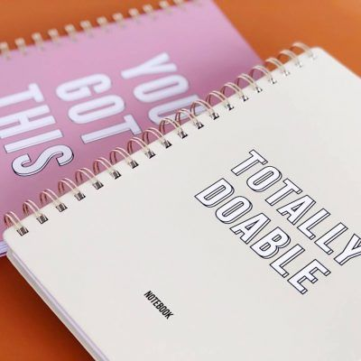 Studio Stationery Notitieboek Totally doable - invulboekjes (3)