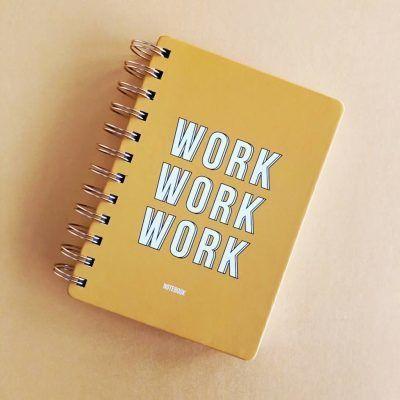 Studio Stationery Notitieboek Work work work - invulboekjes (4)
