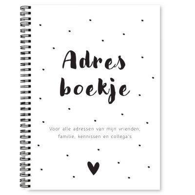 Adresboekje Fyllbooks Cover