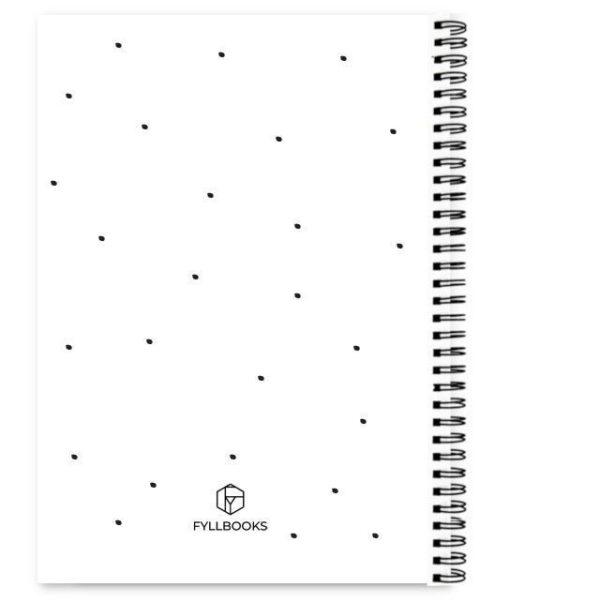 Adresboekje Fyllbooks achterkant