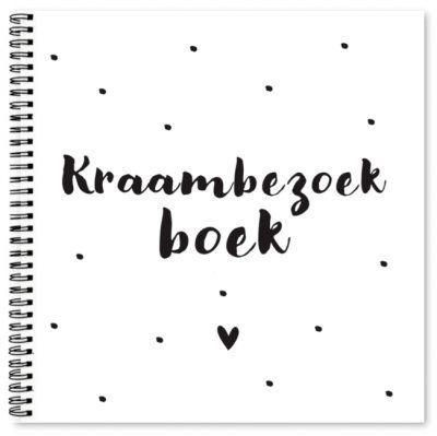 Fyllbooks Kraambezoekboek Kraambezoekboek