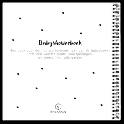 Cover babyshowerboek fyllbooks achterkant