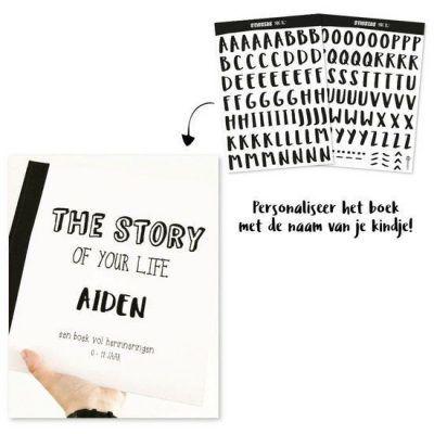 Oh My Goody - Stickervel ABC XL -sfeer2- invulboekjes.nl